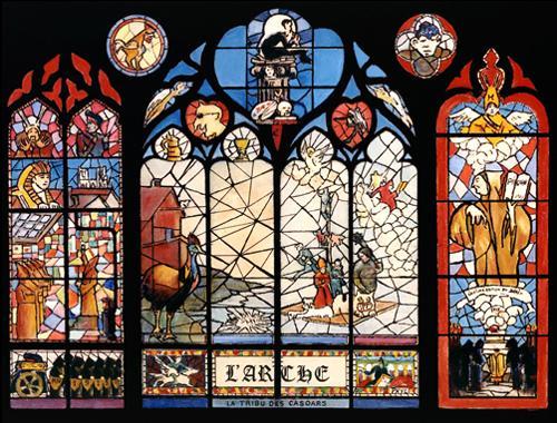 Projet de vitrail pour L'Arche