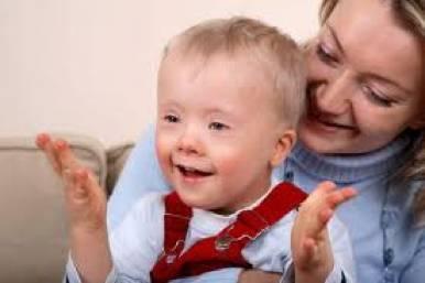 mère et enfant handicapé
