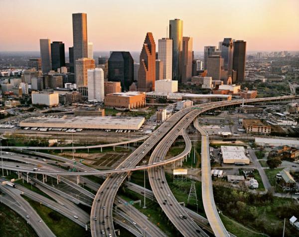 Houston et ses autoroutes